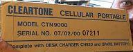 Cleartone CTN9000  box shot