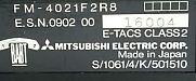 Mitsubishi MT4 ESN