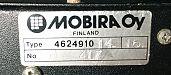 Mobira Combi bracket data label