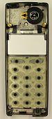 Ericsson A1018s diassembled keypad