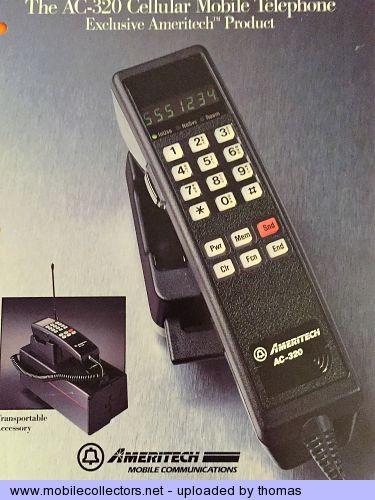 Motorola Ameritech AC-320 - Mobilecollectors.net