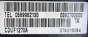 Motorola Cellnet A130 back