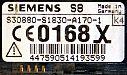 Siemens S6 S8 Special